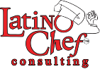 latino chef logo consulting